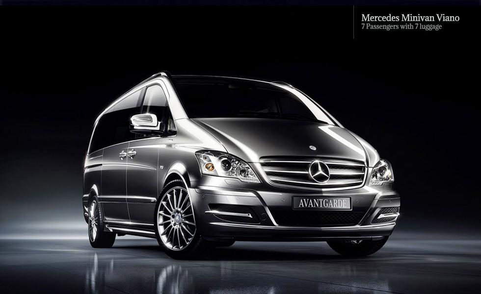 Mercedes Minivan Viano