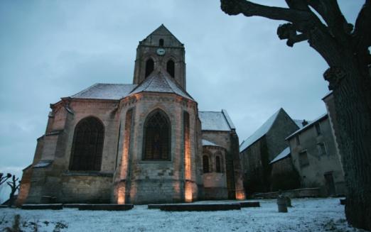 Auvers sur Oise church
