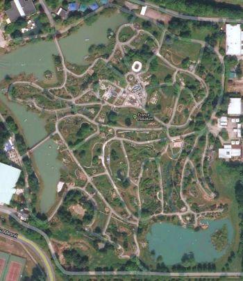 France Miniature Map amusement park