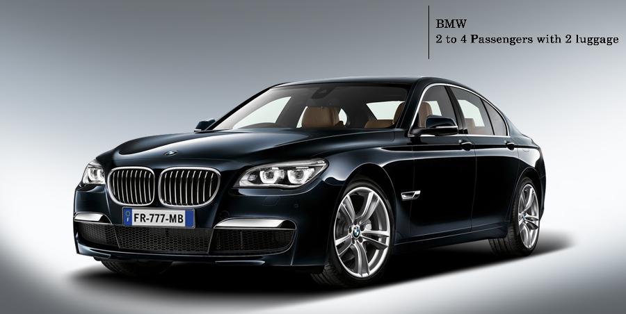 BMW Limousine to rent on Paris Limousine Car Service